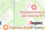 Схема проезда до компании Управление социальной защиты населения Южного административного округа в Москве
