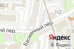 Схема проезда до компании Spline-trans в Москве