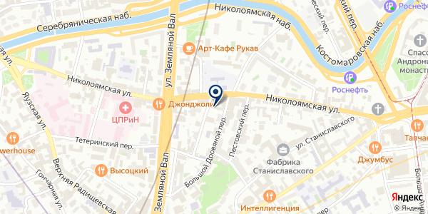 ТФ АВЭК-2000 на карте Москве