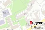 Схема проезда до компании Технологика в Москве