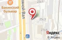 Схема проезда до компании Кринум Нв в Москве