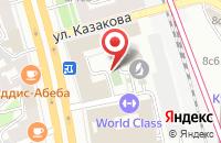 Схема проезда до компании Агрекон в Москве