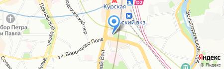 Мир Офисов на карте Москвы