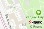 Схема проезда до компании Верум в Москве