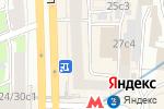 Схема проезда до компании FRIDAYS Logistic в Москве