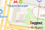 Схема проезда до компании НТА ТРЕВЕЛ в Москве