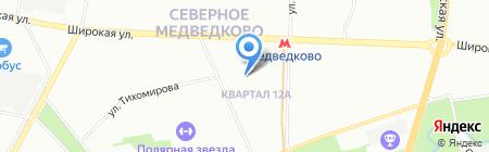 Служба Транс Сервис на карте Москвы