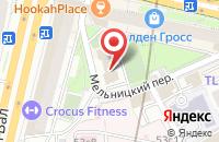 Схема проезда до компании Киноартстудия в Москве