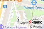 Схема проезда до компании Eco Slim в Москве
