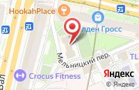 Схема проезда до компании Арт Либрис в Москве