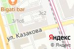Схема проезда до компании Алонта АГ в Москве