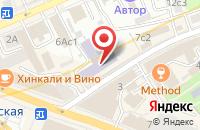 Схема проезда до компании Современные Интернет-Технологии в Москве