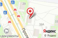 Схема проезда до компании Двд Магия в Москве