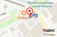 Схема проезда до компании Инт Проекты в Москве