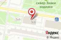 Схема проезда до компании Алинеа Рекордс в Москве