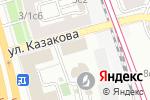 Схема проезда до компании Элит Групп в Москве