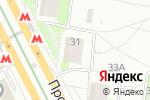 Схема проезда до компании Stud-Beauty в Москве