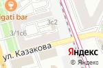 Схема проезда до компании Мировые судьи Басманного района в Москве