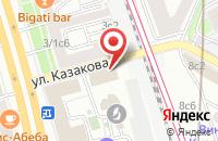 Схема проезда до компании Ювелир-Трэйд в Москве