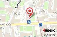 Схема проезда до компании Меридиан в Москве