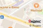 Схема проезда до компании Lifezon.ru в Москве