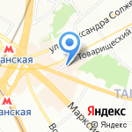 Eveline на карте Москвы