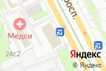 Схема проезда до компании Пролетарский 24 в Москве