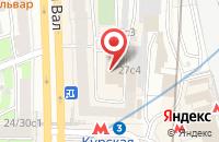 Схема проезда до компании Сити Маркетинг в Москве