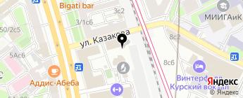 4x4 Max на карте Москвы