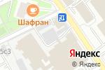 Схема проезда до компании Сибатекс в Москве