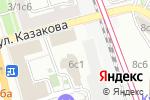 Схема проезда до компании Кравт в Москве