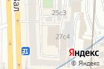 Схема проезда до компании Музыкальный парад в Москве