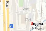 Схема проезда до компании Потешки в Москве