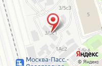 Схема проезда до компании Аква в Москве