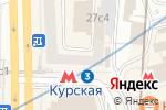 Схема проезда до компании Warranty-apple в Москве