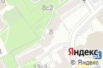 Схема проезда до компании Амели в Москве