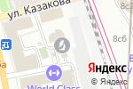 Схема проезда до компании Фемида в Москве