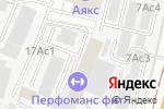 Схема проезда до компании Серебряный Бор в Москве
