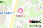 Схема проезда до компании Формула Мансарды в Москве