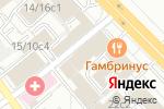 Схема проезда до компании Асенкур в Москве