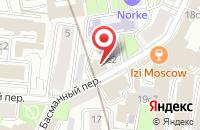 Схема проезда до компании Магистраль См в Москве