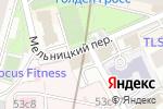 Схема проезда до компании Объединение Кадастровых Специалистов в Москве