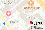 Схема проезда до компании Chisto в Москве