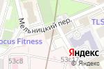 Схема проезда до компании Налоговый профиль в Москве