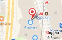 Схема проезда до компании Артдекор в Москве