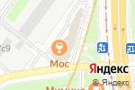 Схема проезда до компании МосКальян в Москве
