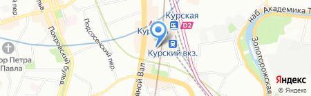 Van Wok на карте Москвы