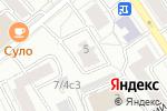 Схема проезда до компании Роса в Москве