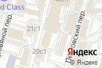 Схема проезда до компании Black Chamber в Москве