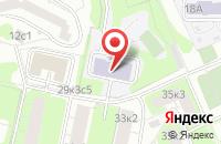 Схема проезда до компании Ресурс Центр в Москве